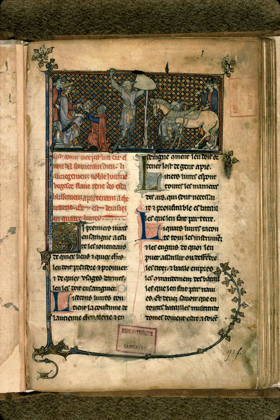 Carpentras, Bibl. mun., ms. 0332, f. 001 - vue 2