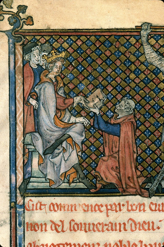 Carpentras, Bibl. mun., ms. 0332, f. 001 - vue 4