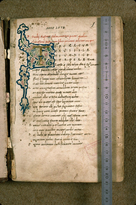 Carpentras, Bibl. mun., ms. 0366, f. 001 - vue 1