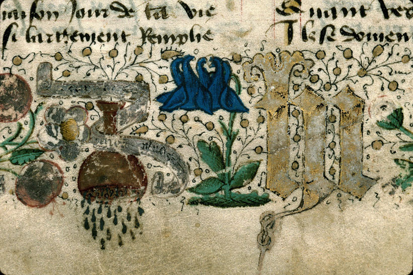 Carpentras, Bibl. mun., ms. 0375, f. 002 - vue 5