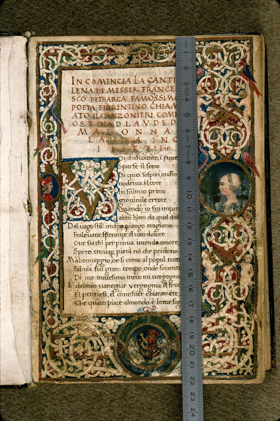 Carpentras, Bibl. mun., ms. 0392, f. 002 - vue 1