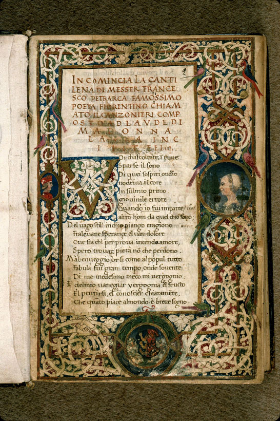 Carpentras, Bibl. mun., ms. 0392, f. 002 - vue 2
