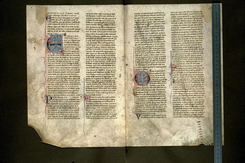 Carpentras, Bibl. mun., ms. 0404, f. 010v-011 - vue 1