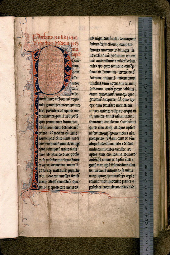 Carpentras, Bibl. mun., ms. 0449, f. 001 - vue 1