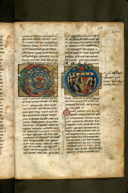 Carpentras, Bibl. mun., ms. 0473, f. 116 - vue 1