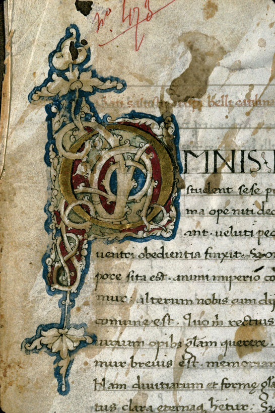 Carpentras, Bibl. mun., ms. 0481, f. 001 - vue 3