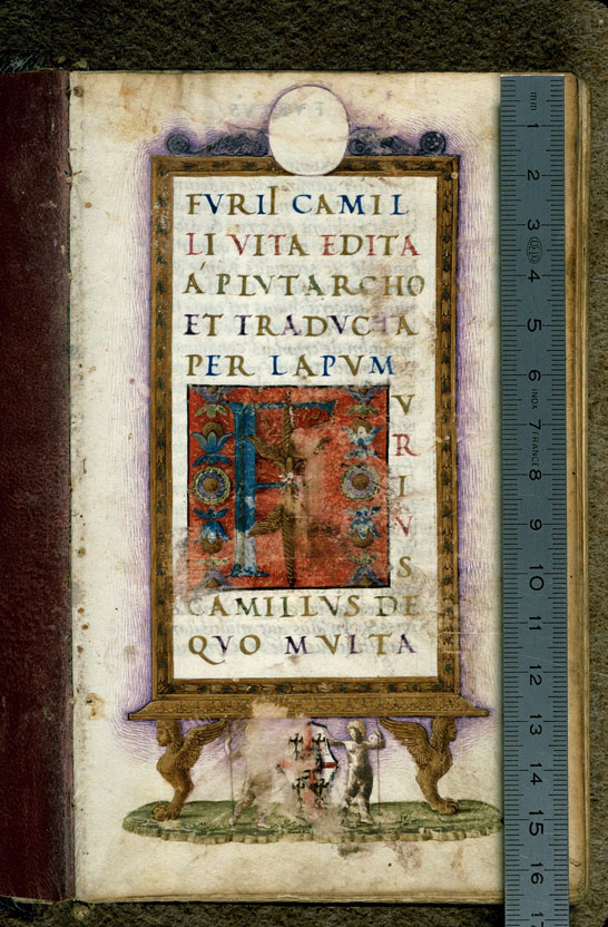 Carpentras, Bibl. mun., ms. 0618, f. 001 - vue 1