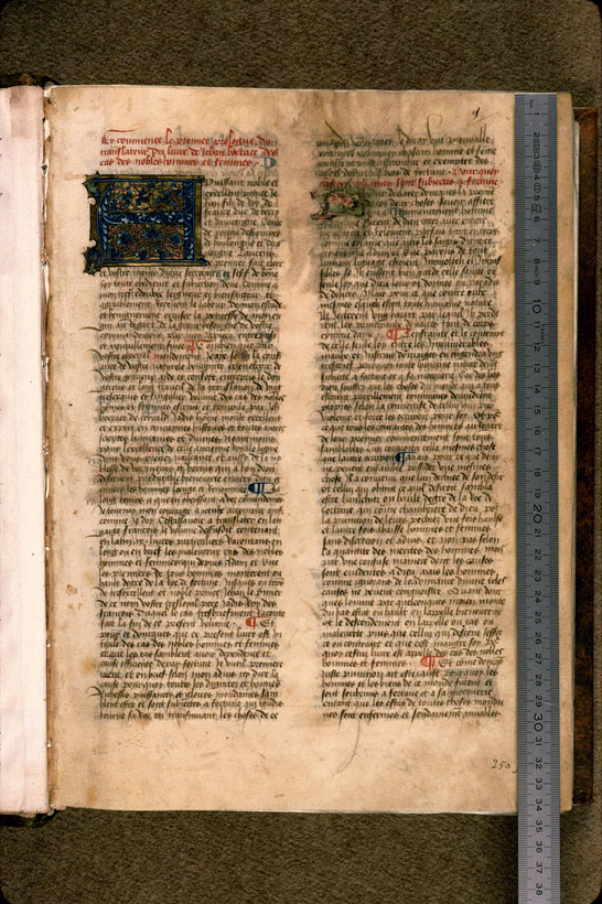 Carpentras, Bibl. mun., ms. 0622, f. 001 - vue 1