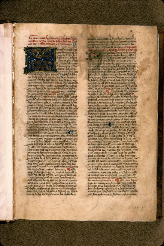Carpentras, Bibl. mun., ms. 0622, f. 001 - vue 2