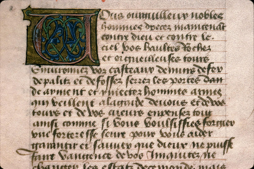 Carpentras, Bibl. mun., ms. 0622, f. 007v - vue 1