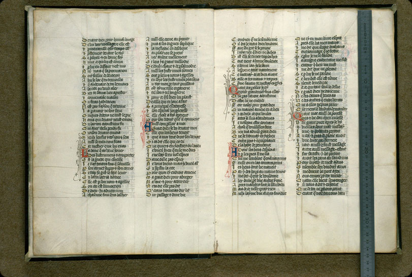 Carpentras, Bibl. mun., ms. 0725, f. 002v-003 - vue 1