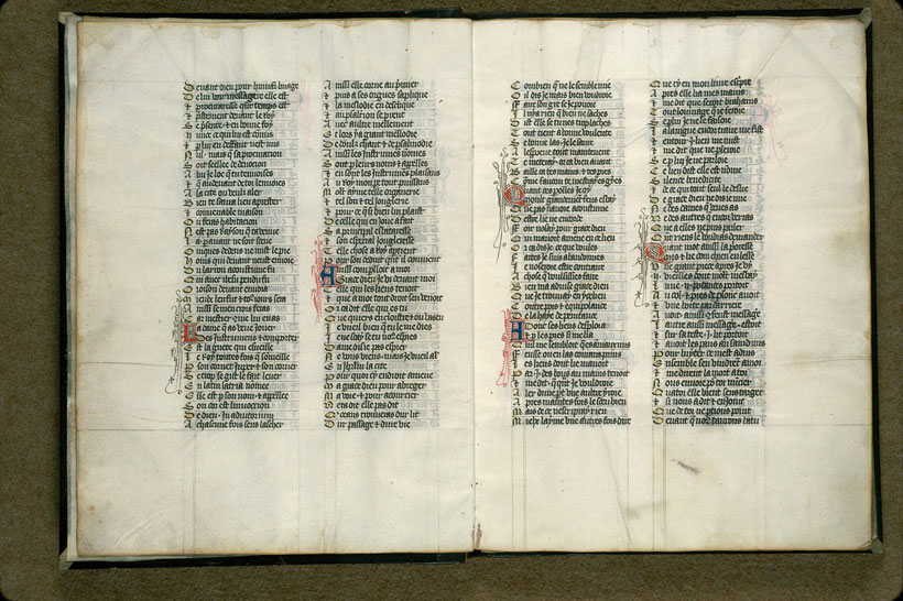 Carpentras, Bibl. mun., ms. 0725, f. 002v-003 - vue 2