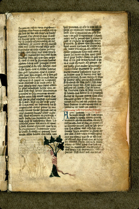 Carpentras, Bibl. mun., ms. 1260, f. 002 - vue 1