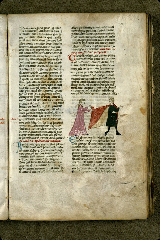 Carpentras, Bibl. mun., ms. 1260, f. 039 - vue 1