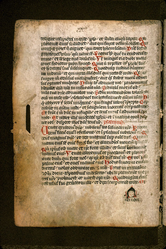 Carpentras, Bibl. mun., ms. 1261, f. 038v - vue 2