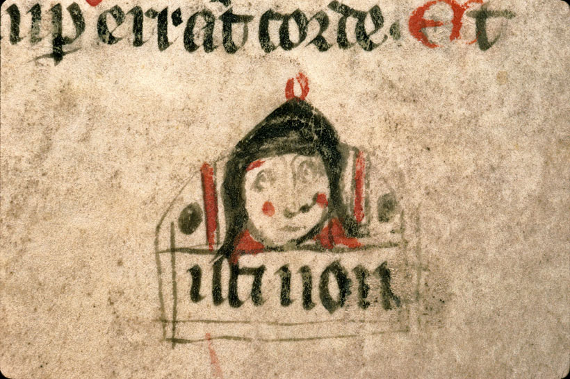 Carpentras, Bibl. mun., ms. 1261, f. 038v - vue 3