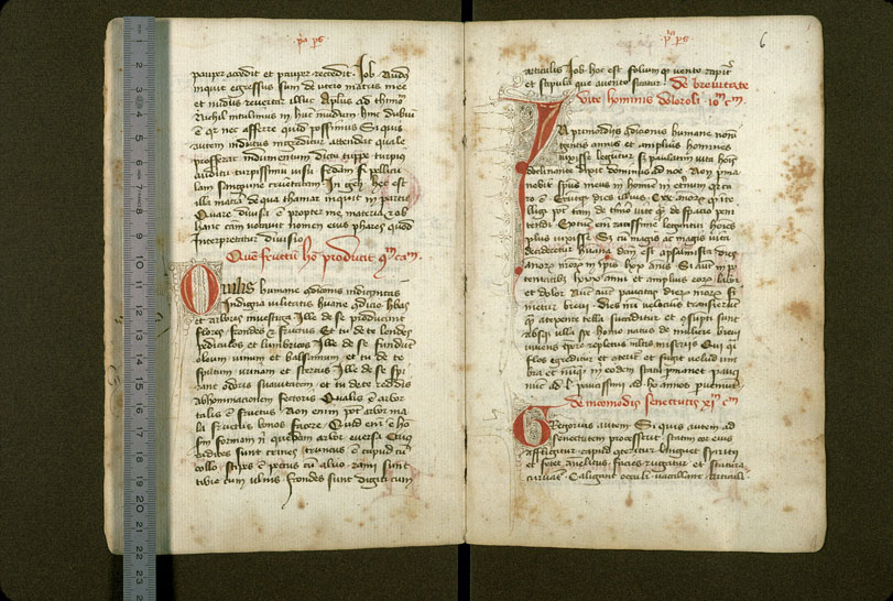 Carpentras, Bibl. mun., ms. 1277, f. 005v-006 - vue 1