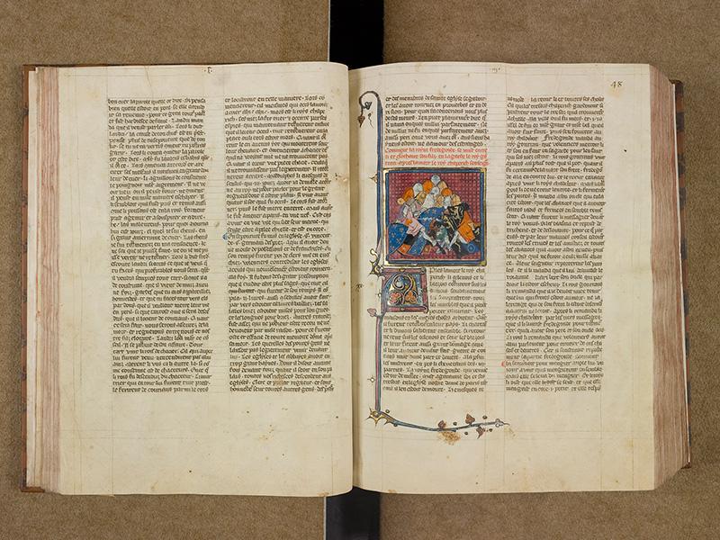 CASTRES, Bibliothèque municipale, 0003, f. 047v - 048