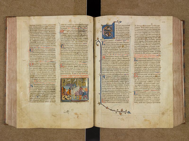 CASTRES, Bibliothèque municipale, 0003, f. 122v - 123