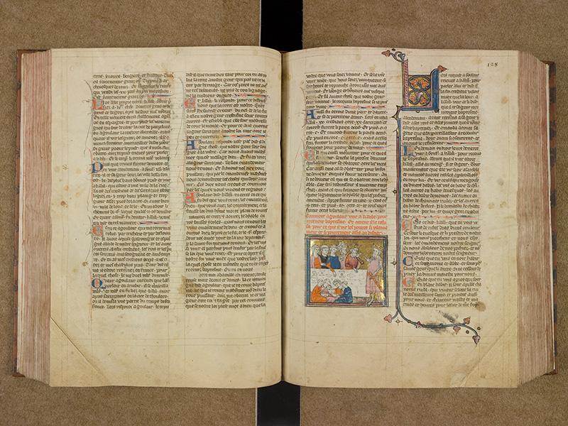 CASTRES, Bibliothèque municipale, 0003, f. 127v - 128