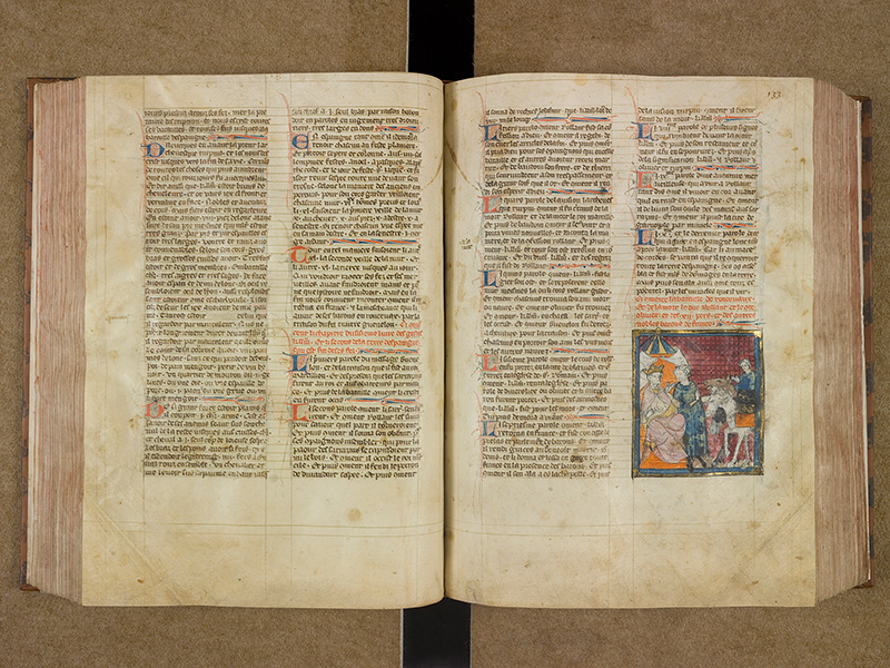 CASTRES, Bibliothèque municipale, 0003, f. 132v - 133