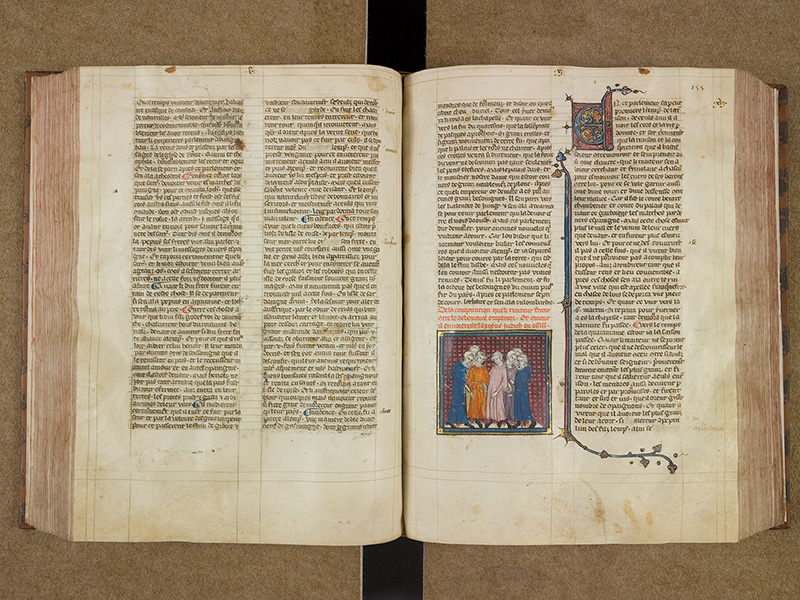 CASTRES, Bibliothèque municipale, 0003, f. 154v - 155