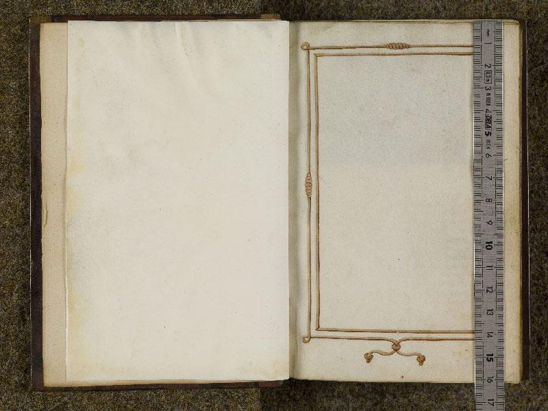 CHANTILLY, Bibliothèque du château, 0053 (1342), f. 000Av - 001 avec réglet