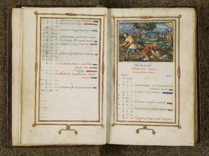 CHANTILLY, Bibliothèque du château, 0053 (1342), f. 003v - 004