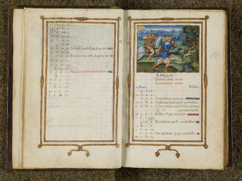 CHANTILLY, Bibliothèque du château, 0053 (1342), f. 004v - 005