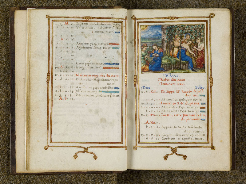 CHANTILLY, Bibliothèque du château, 0053 (1342), f. 005v - 006