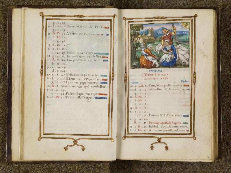 CHANTILLY, Bibliothèque du château, 0053 (1342), f. 006v - 007