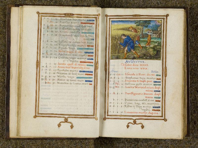 CHANTILLY, Bibliothèque du château, 0053 (1342), f. 008v - 009