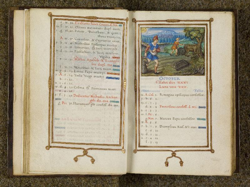 CHANTILLY, Bibliothèque du château, 0053 (1342), f. 010v - 011