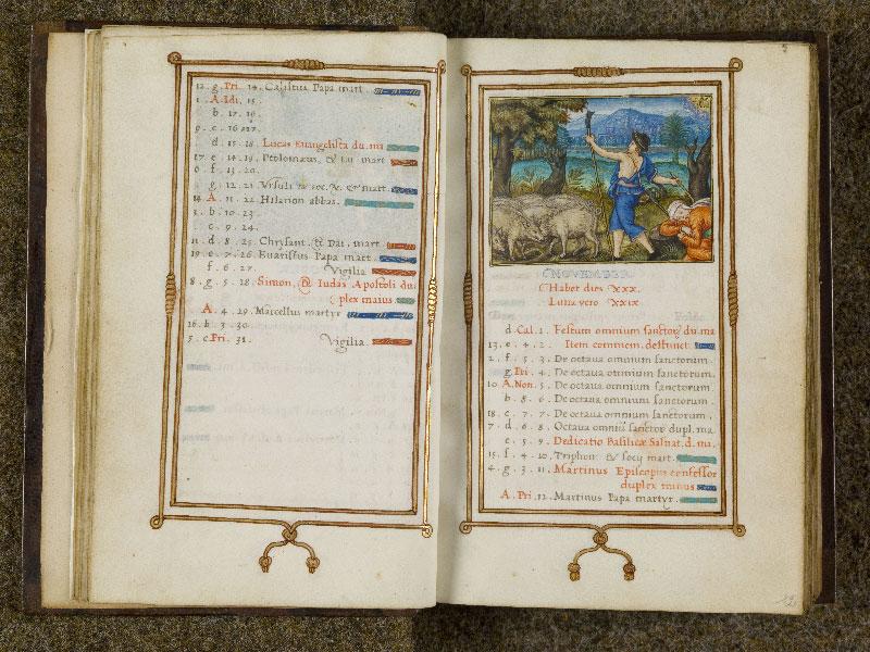 CHANTILLY, Bibliothèque du château, 0053 (1342), f. 011v - 012