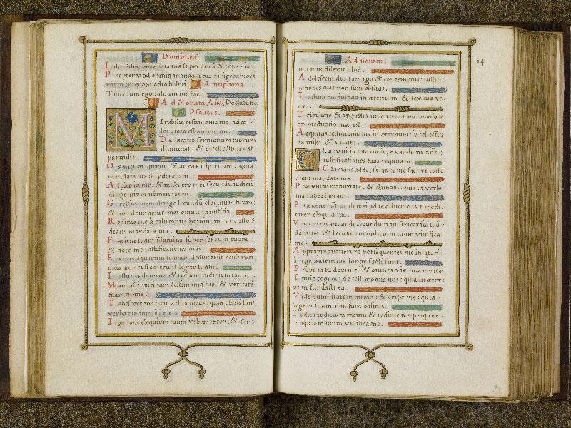 CHANTILLY, Bibliothèque du château, 0053 (1342), f. 027v - 028