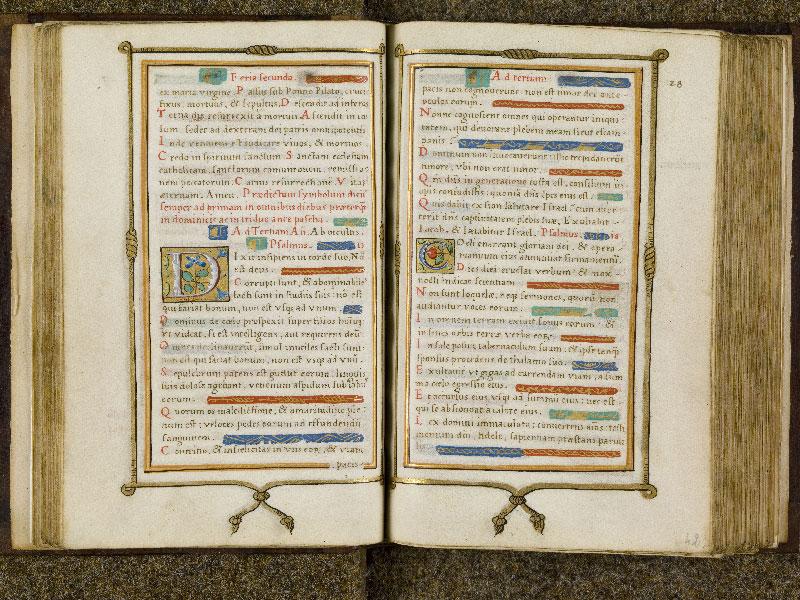 CHANTILLY, Bibliothèque du château, 0053 (1342), f. 041v - 042