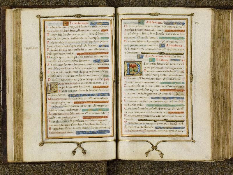 CHANTILLY, Bibliothèque du château, 0053 (1342), f. 042v - 043