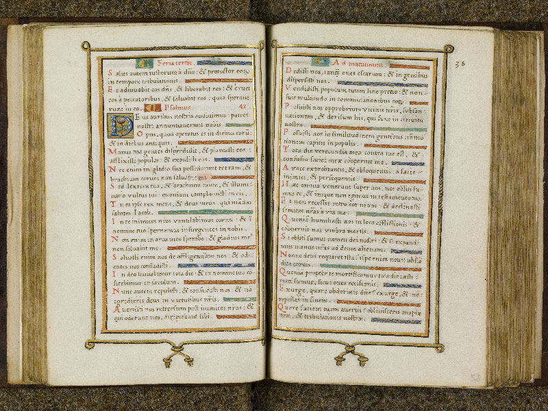 CHANTILLY, Bibliothèque du château, 0053 (1342), f. 051v - 052