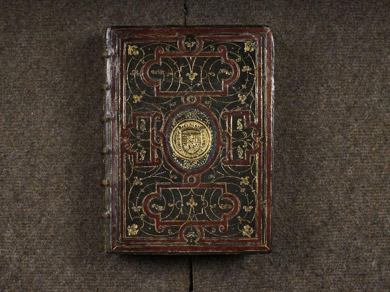 CHANTILLY, Bibliothèque du château, 0064 (1671), plat supérieur