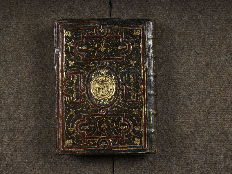 CHANTILLY, Bibliothèque du château, 0064 (1671), plat inférieur