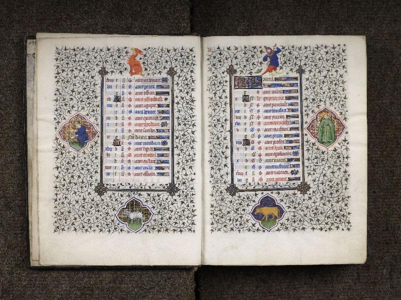 CHANTILLY, Bibliothèque du château, 0064 (1671), f. 003v - 004