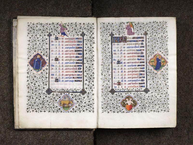 CHANTILLY, Bibliothèque du château, 0064 (1671), f. 004v - 005