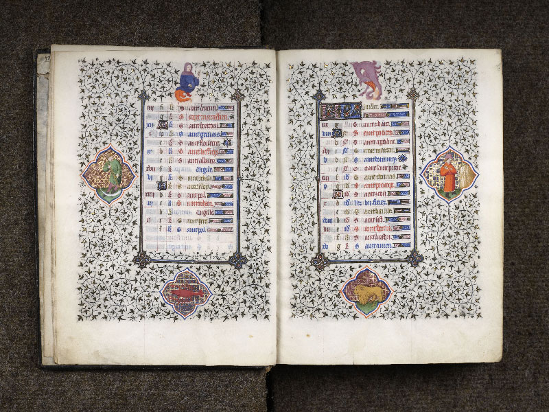 CHANTILLY, Bibliothèque du château, 0064 (1671), f. 006v - 007
