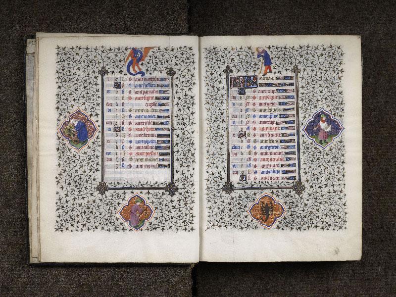 CHANTILLY, Bibliothèque du château, 0064 (1671), f. 009v - 010