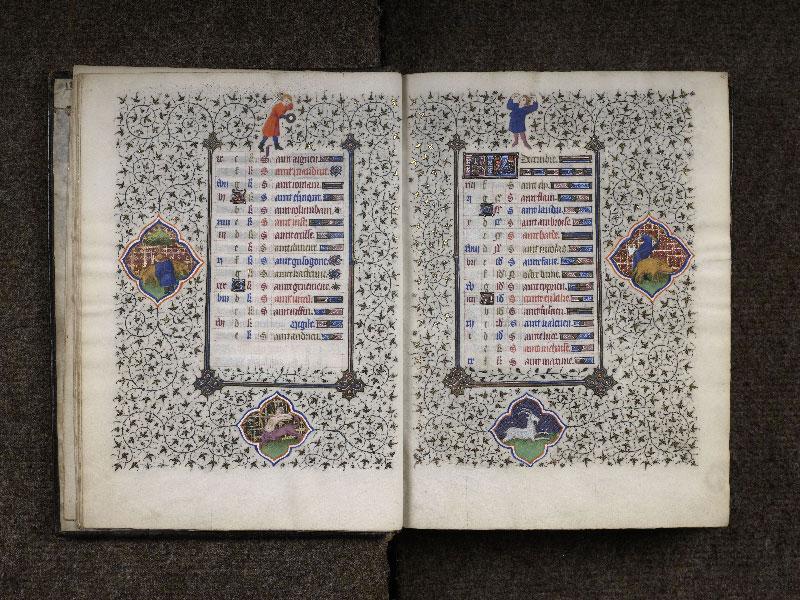 CHANTILLY, Bibliothèque du château, 0064 (1671), f. 011v - 012