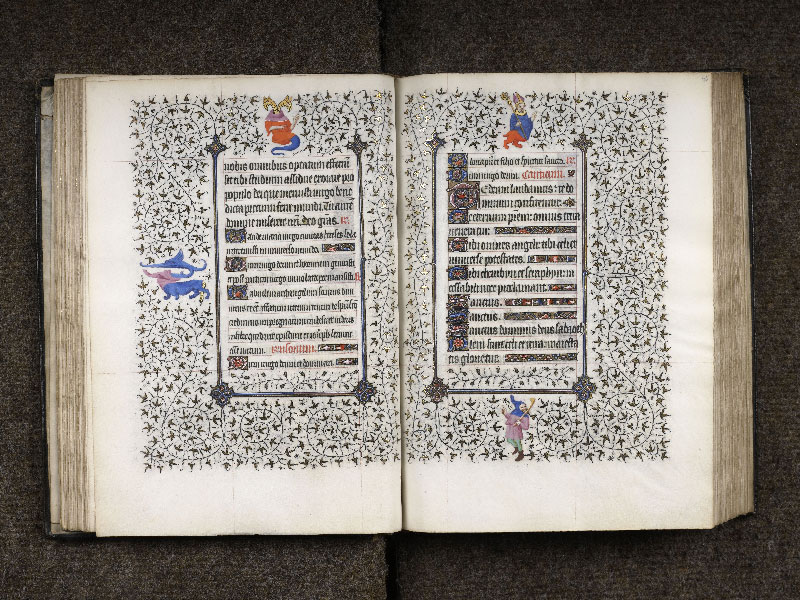 CHANTILLY, Bibliothèque du château, 0064 (1671), f. 044v - 045