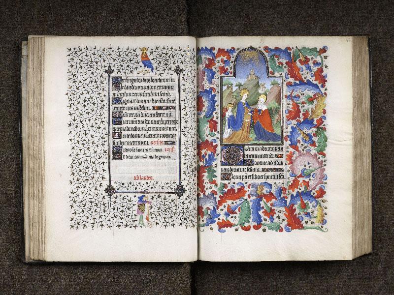 CHANTILLY, Bibliothèque du château, 0064 (1671), f. 046v - 047