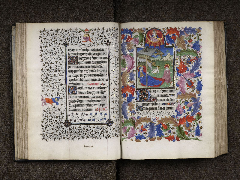 CHANTILLY, Bibliothèque du château, 0064 (1671), f. 056v - 057