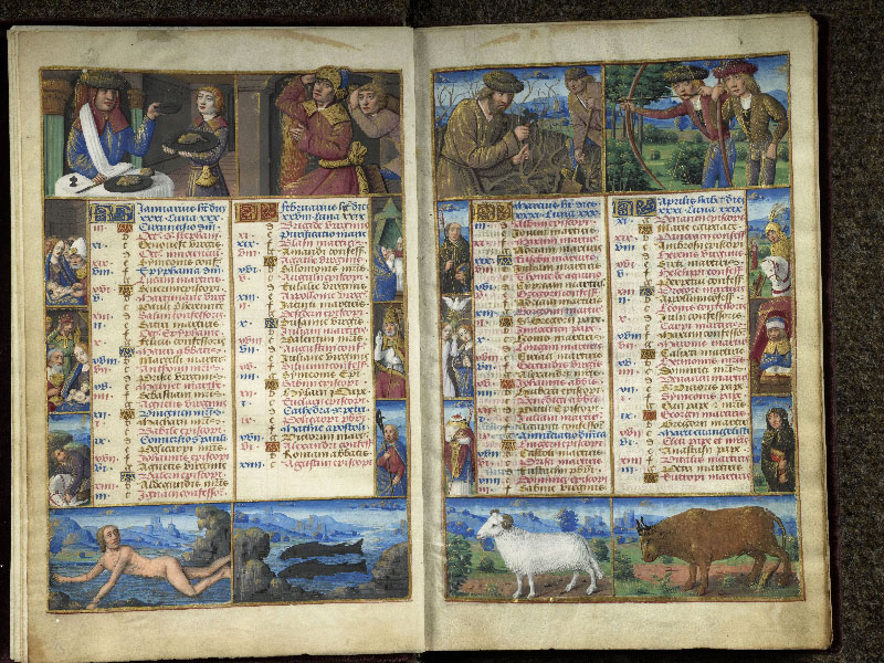 CHANTILLY, Bibliothèque du château, 0072 (1119), f. 001v - 002