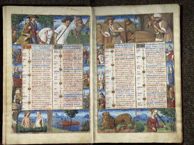CHANTILLY, Bibliothèque du château, 0072 (1119), f. 002v - 003